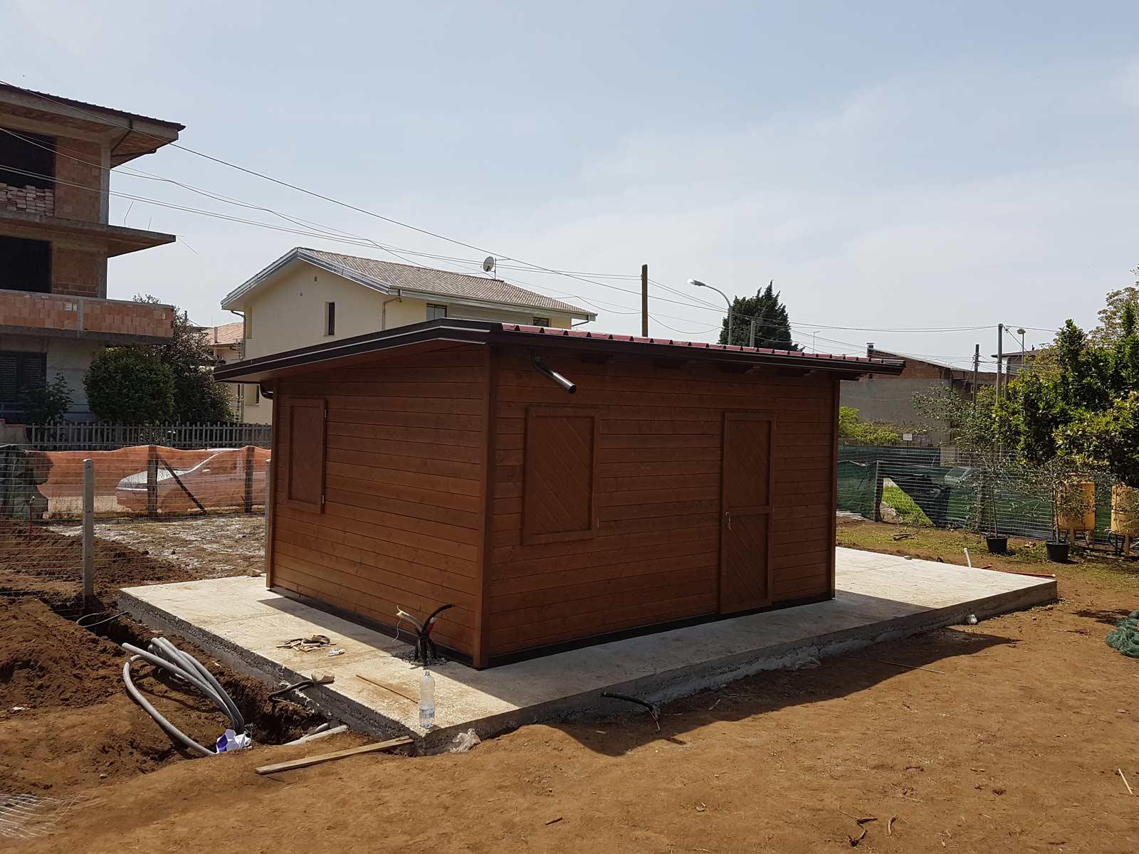 Pareti In Legno Prefabbricate : Casette legno realizzazione di casette in legno prefabbricate