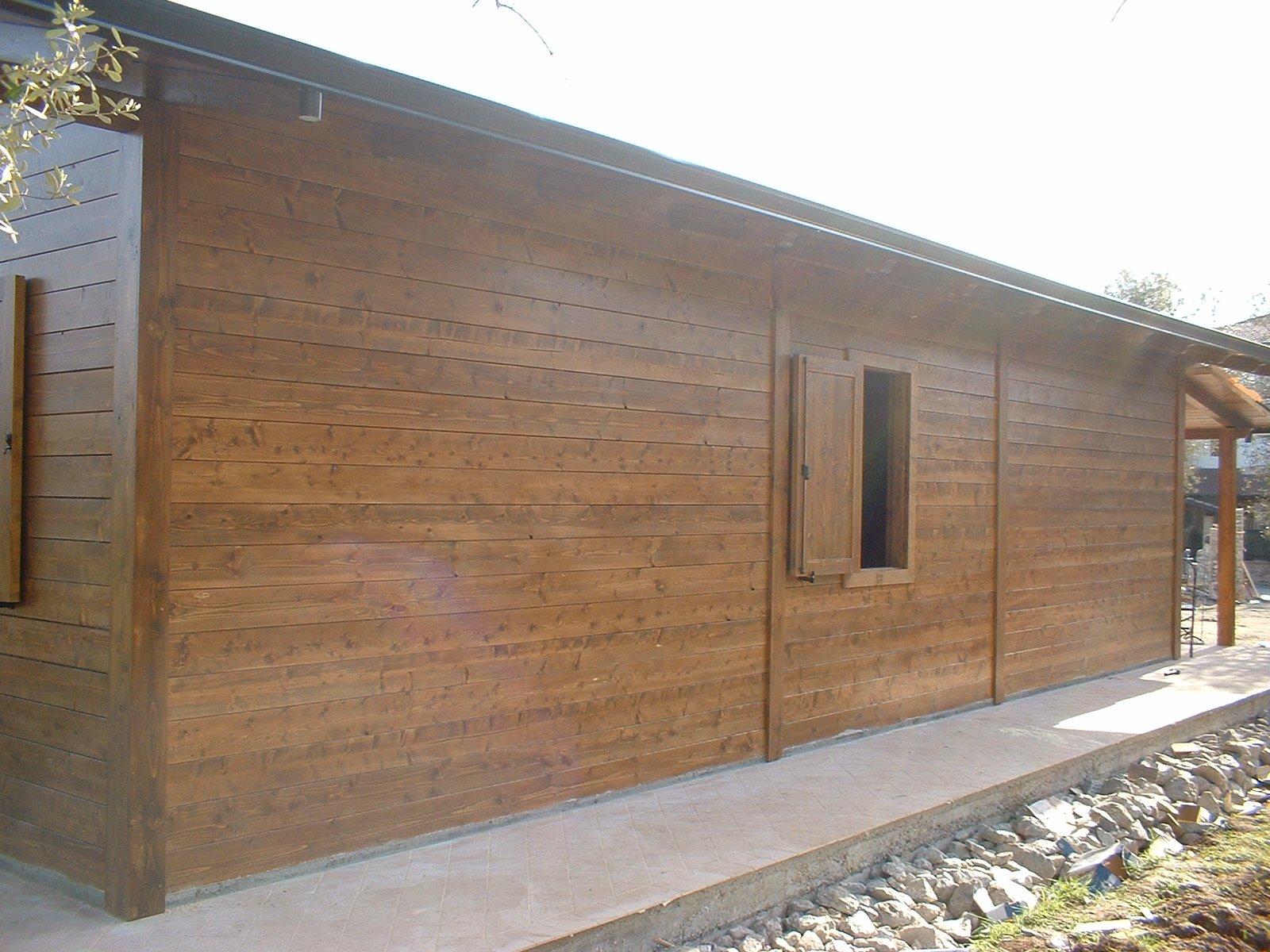 Casa in legno 120 mq for Case in legno prefabbricate usate